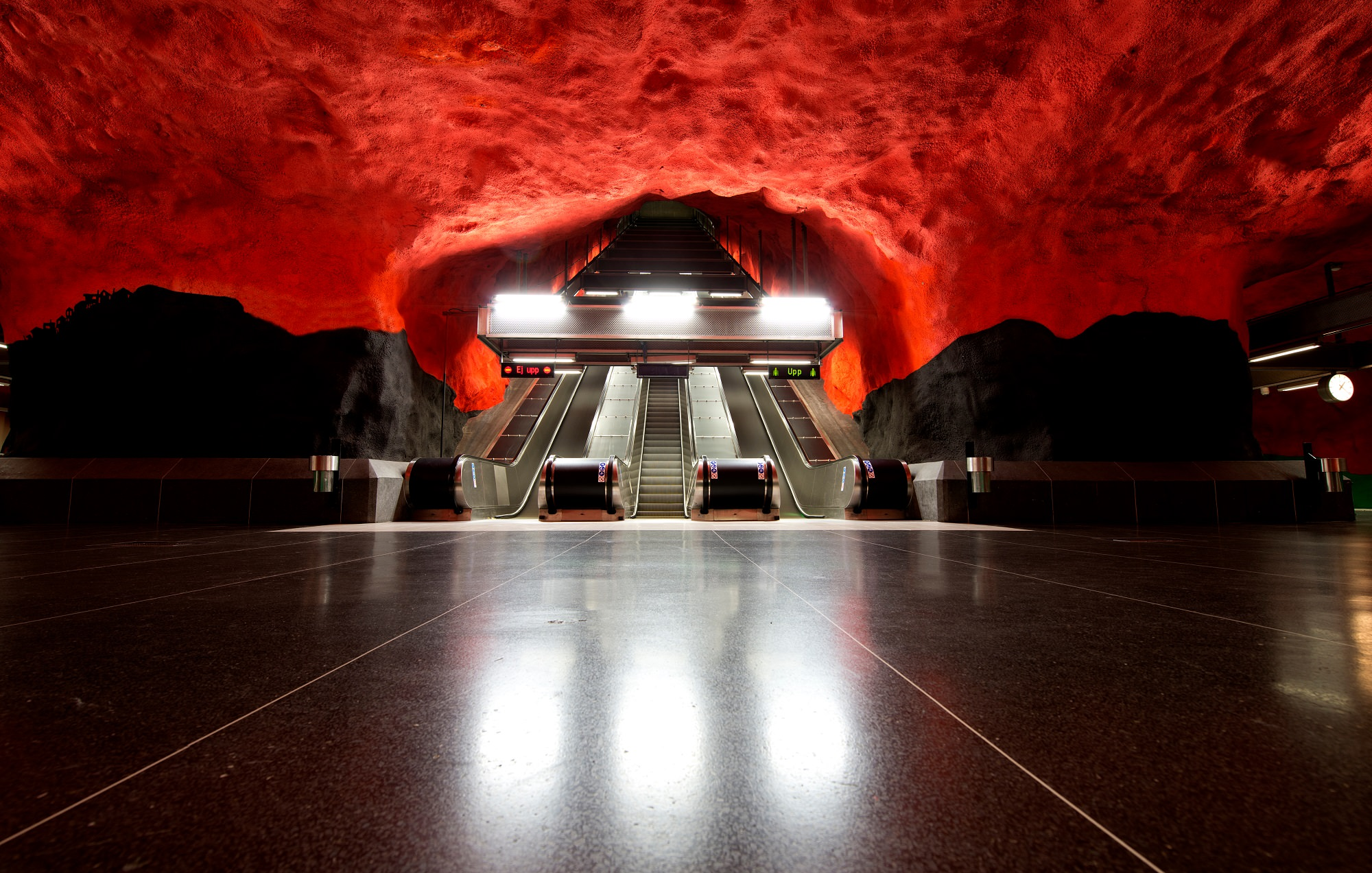Solna, Stacija, Stokholma, Zviedrija, māksla, metro