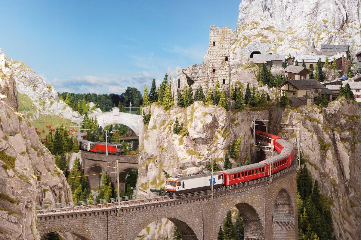 Hamburga, Vācija, Miniatūrā Brīnumzeme, modeļu dzelzceļš