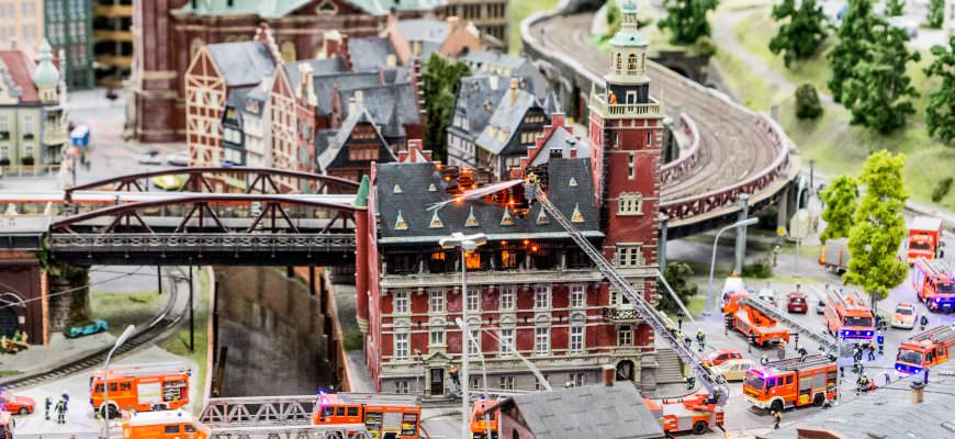 muzejs, Hamburga, Miniatūra Brīnumzeme, Wunderland, Vācija