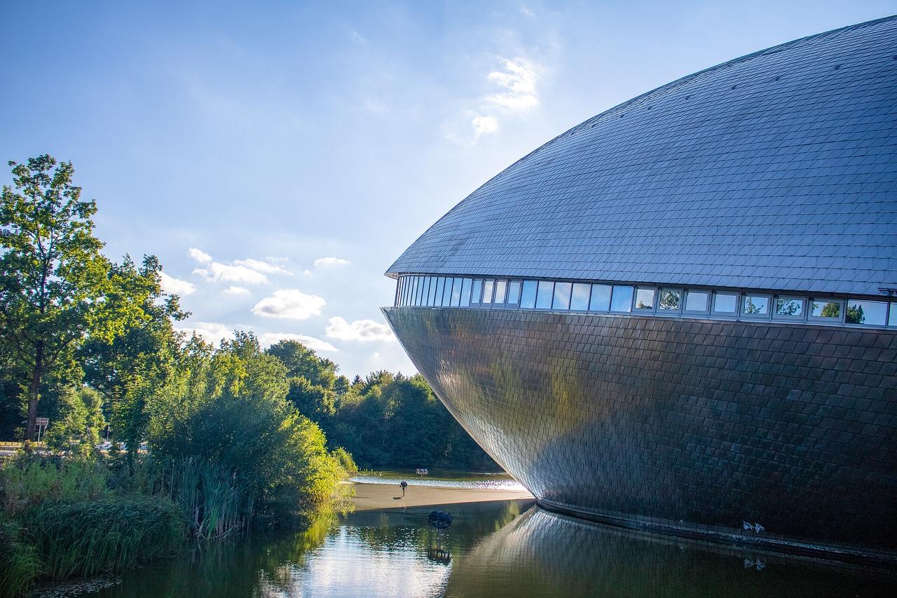 Brēmene, Bremen, Vācija, Universum, Zinātnes centrs, ekskursijas, muzejs, aviācija, fizika, daba, eksperimenti