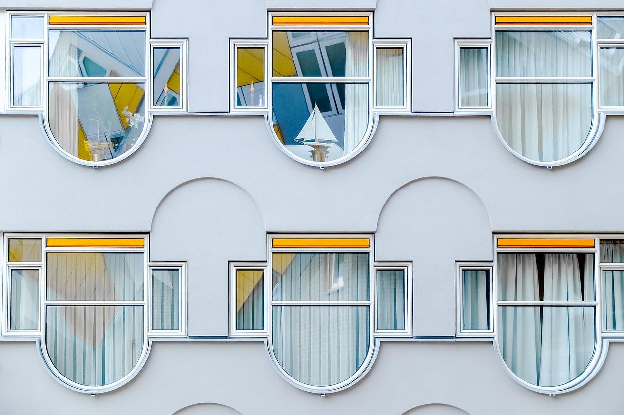 Roterdama, Nīderlande, arhitektūra, modernisms, moderna arhitektūra, Holande,