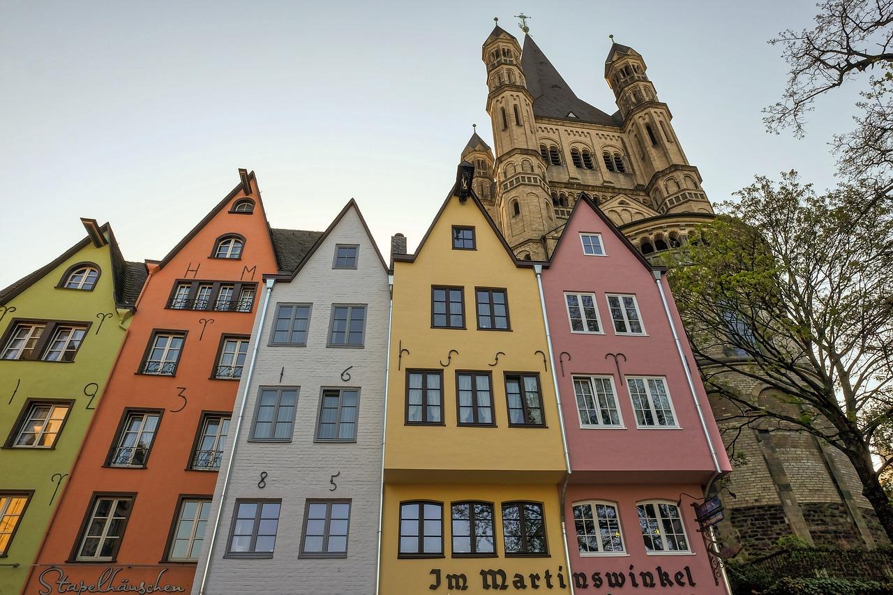 Vecpilsēta, Ķelne, Vācija, pie Reinas, ķelnes katedrāle